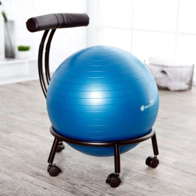 yoga ball chair reviews dining room slip covers uk 7 best chairs hotdeals blog gaiam adjustable custom fit balance