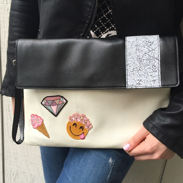 DIY Purse with Patches