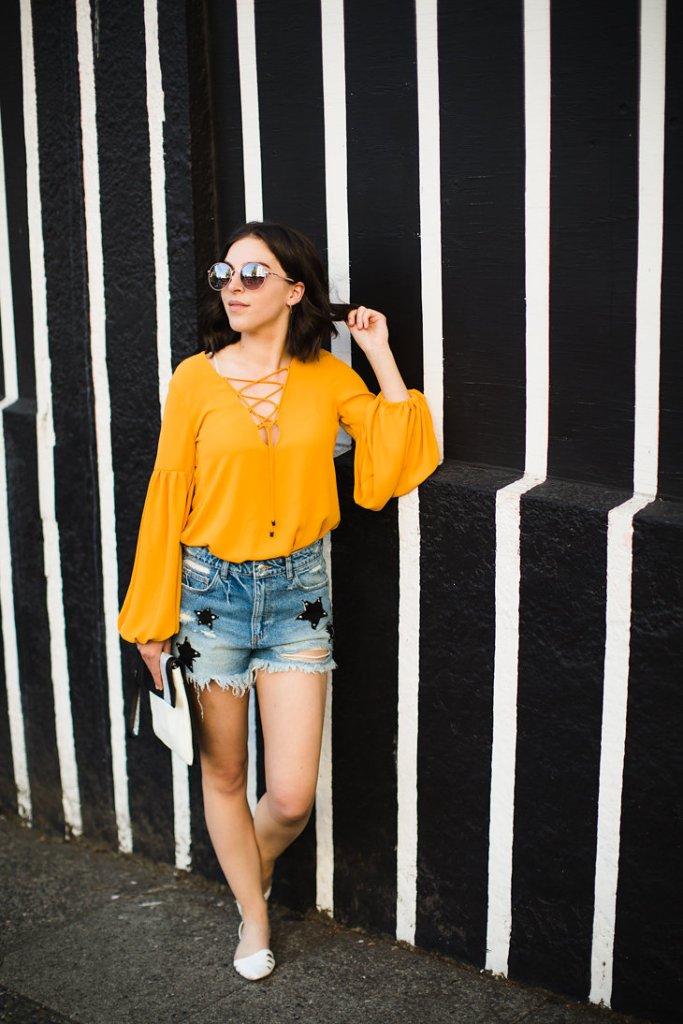 Seattle Fashion Blogger Hot Dress Hot Mess