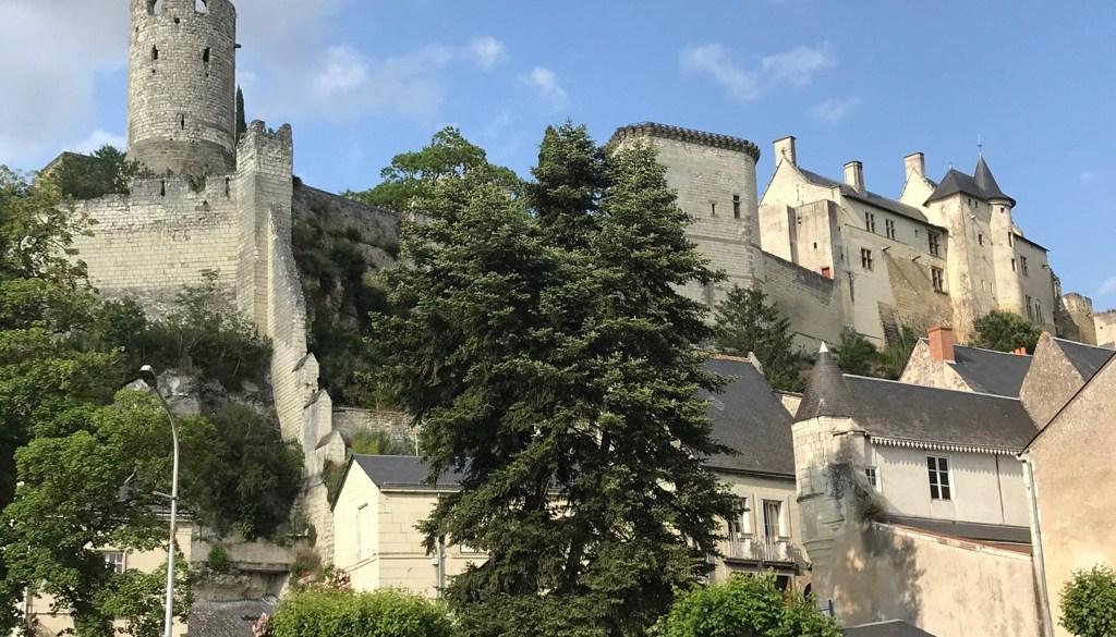 Chinon coeur de ville médiéval