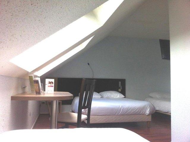 Hôtel Bagatelle Goussainville - Chambre Quadruple