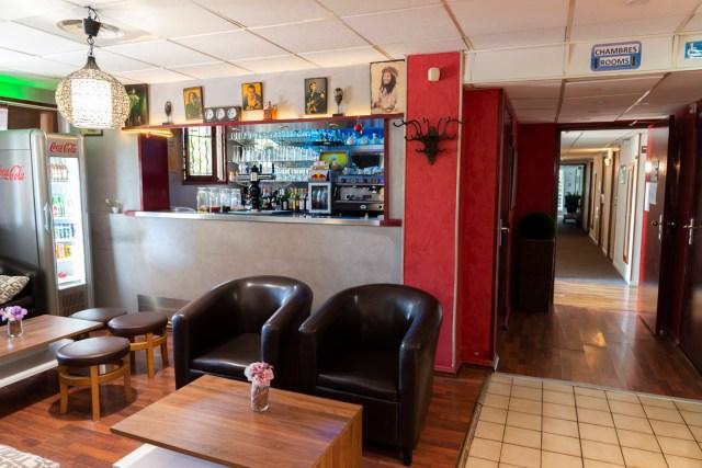 Hôtel Bagatelle Goussainville - Bar et salon
