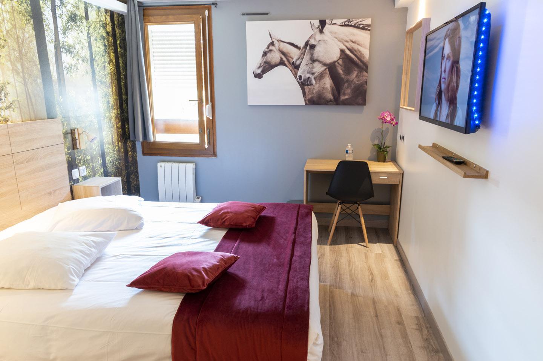 Hôtel Bagatelle Goussainville - Chambre Double
