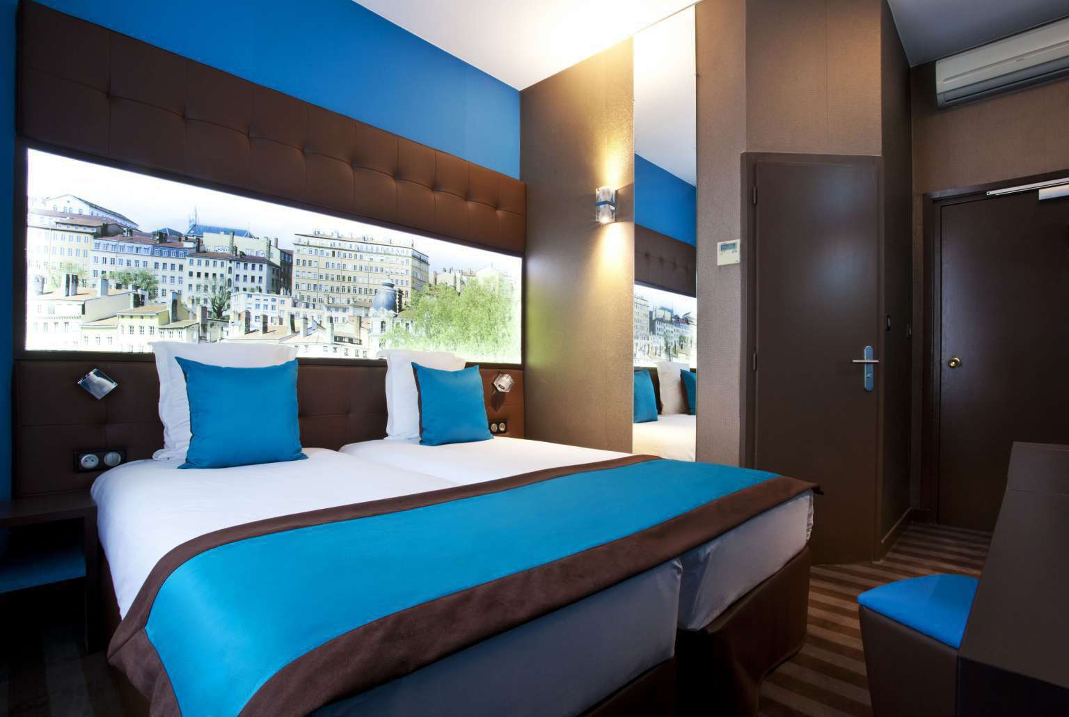 Double Rooms of the 3 Designer Hotel in Lyon  2nd arr  Htel des Savoies