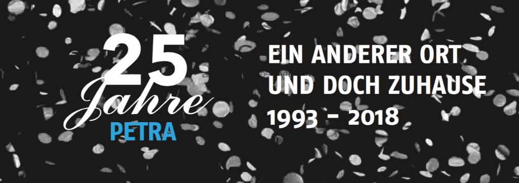 Jubiläumsfeier - 25 Jahre Petra
