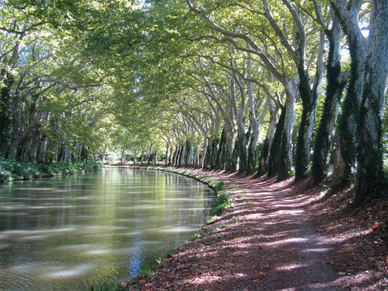 Canal du Midi  Htel Le Mirador