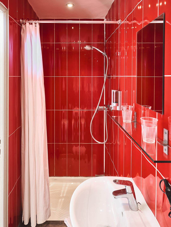 Hôtel Lemon - Menton - Salle de bain Famille