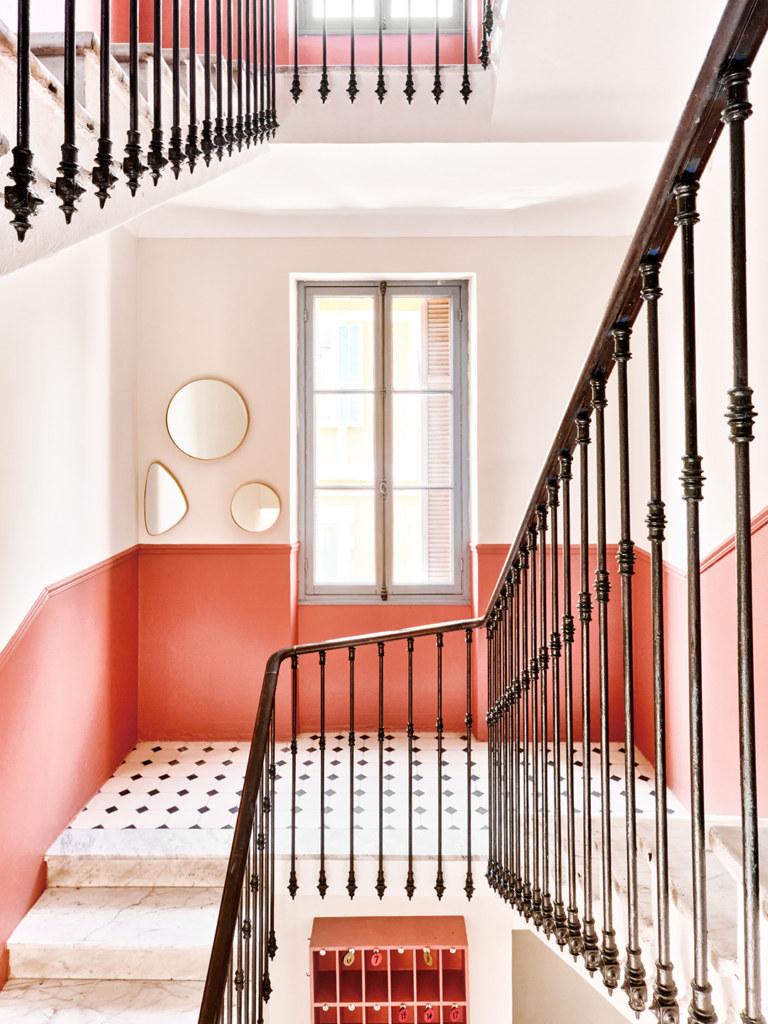 Hôtel Lemon - Menton - Escaliers