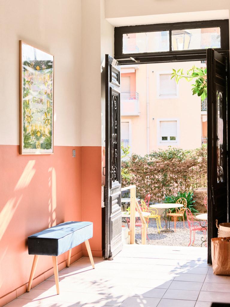 Hôtel Lemon - Menton - Extérieurs - Hall d'entrée