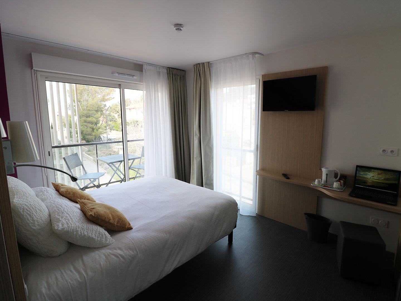 Hôtel Le Virevent Saint Raphaël - Chambre 206 - 2