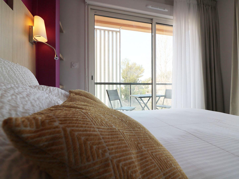 Hôtel Le Virevent Saint Raphaël - Chambre 206 - 4