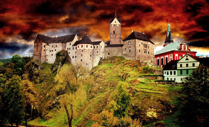 Burg Loket  hotelloketcz