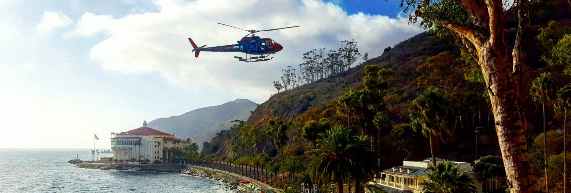 Catalina Island Hotel Helicopter Package Room Specials