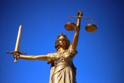 Justice Scale Statue
