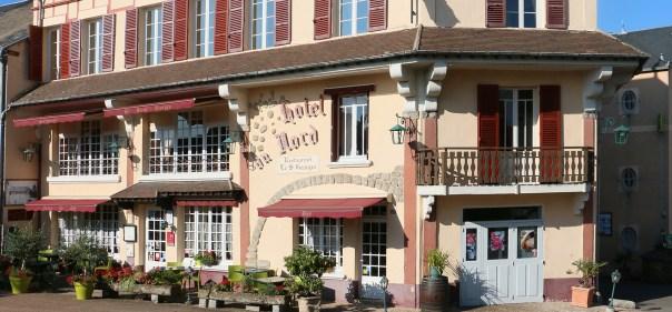 Hôtel du Nord - Restaurant Saint-Georges à Quarré les Tombes - Morvan