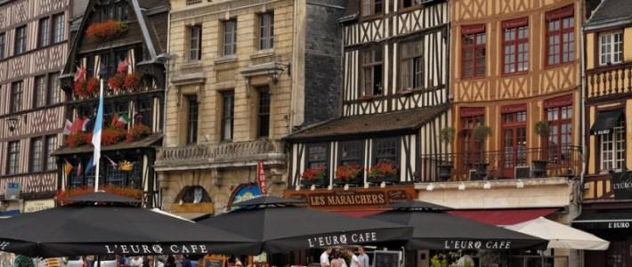Les types d'hébergements disponibles lors d'un séjour à Rouen