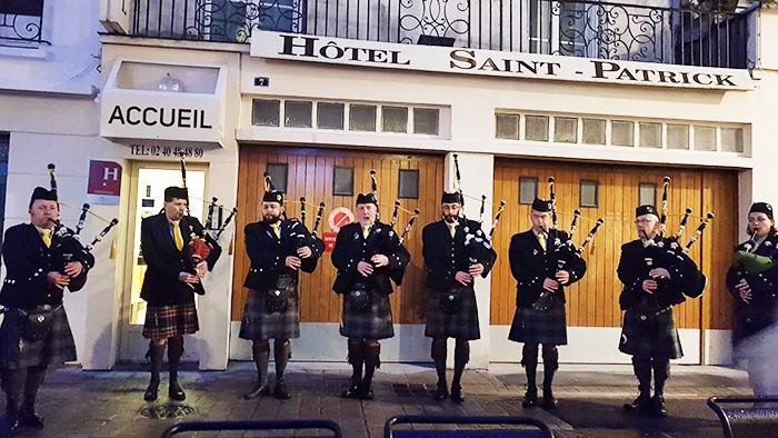 Fêter la Saint-Patrick à l'hôtel Saint-Patrick