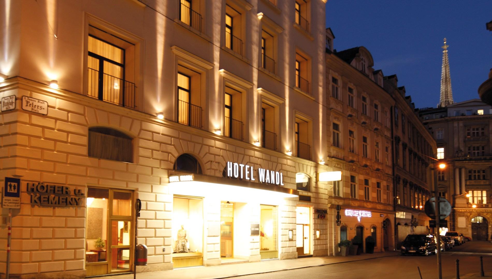Hotel Wandl Vienna Official Website