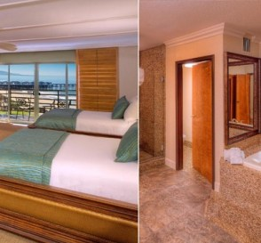 Suite with a hot tub in Pacific Terrace Hotel, San Diego