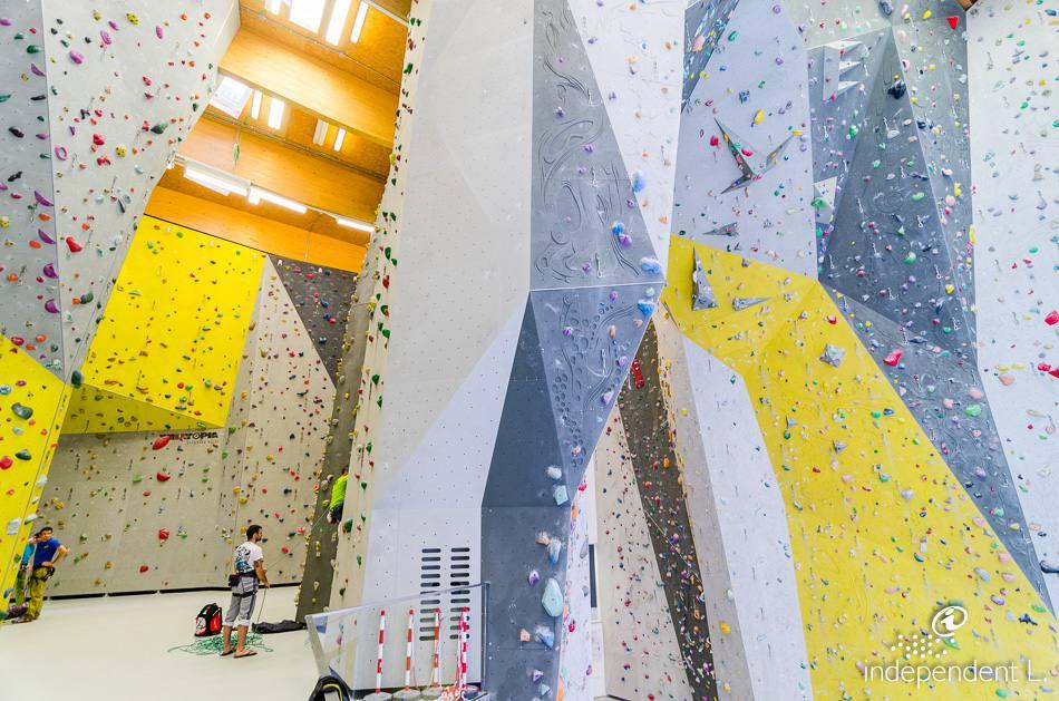 Palestra di arrampicata Salewa Cube  Alto Adige per tutti