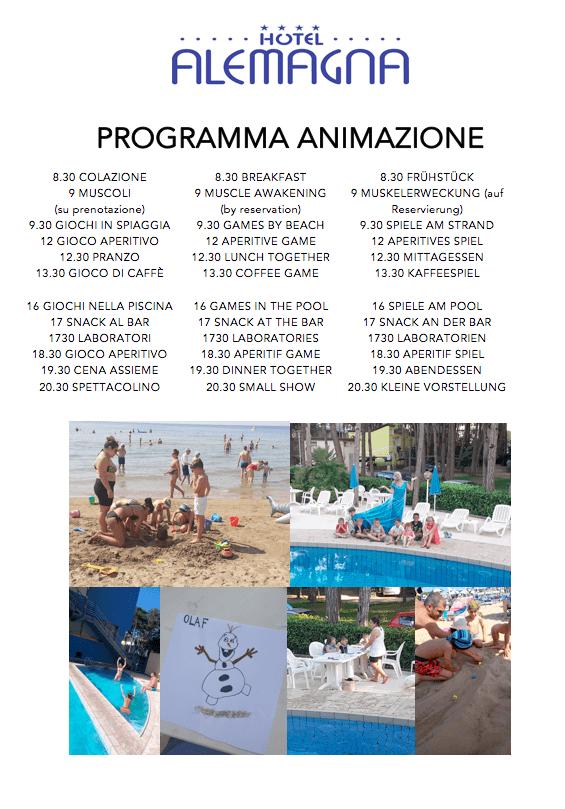 Servizi Hotel Bibione Alemagna (Veneto)   1 - Hotel Bibione