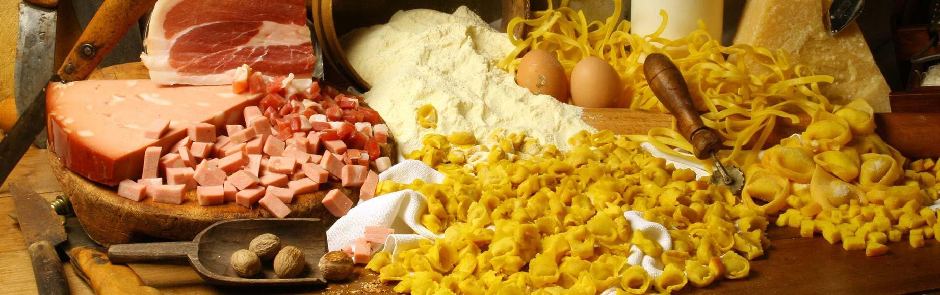 Albergo tre stelle cucina Romagnola patate arrosto piadina