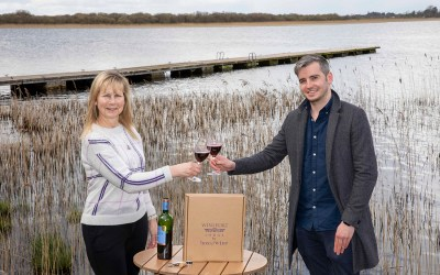 Grape Expectations for Wineport Lodge by Boxofwine.ie