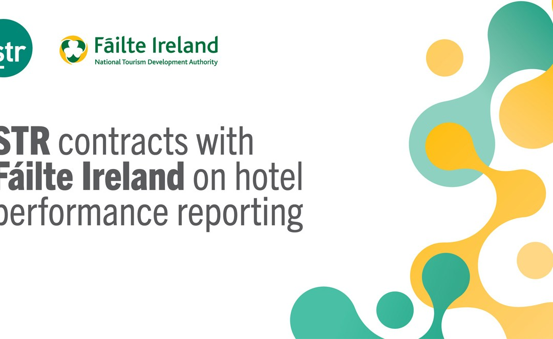 STR contracts with Fáilte Ireland on hotel performance reporting