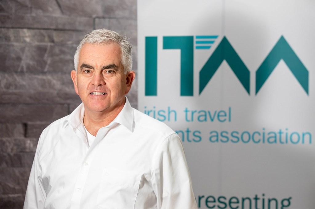 Paul Hackett Irish Travel Agents Association President