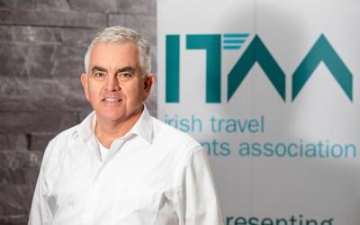 Paul Hackett confirmed as Irish Travel Agents Association President