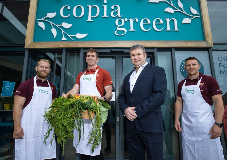 Master Chefs & Copia Green Confirmed as Official Partners To Munster Rugby