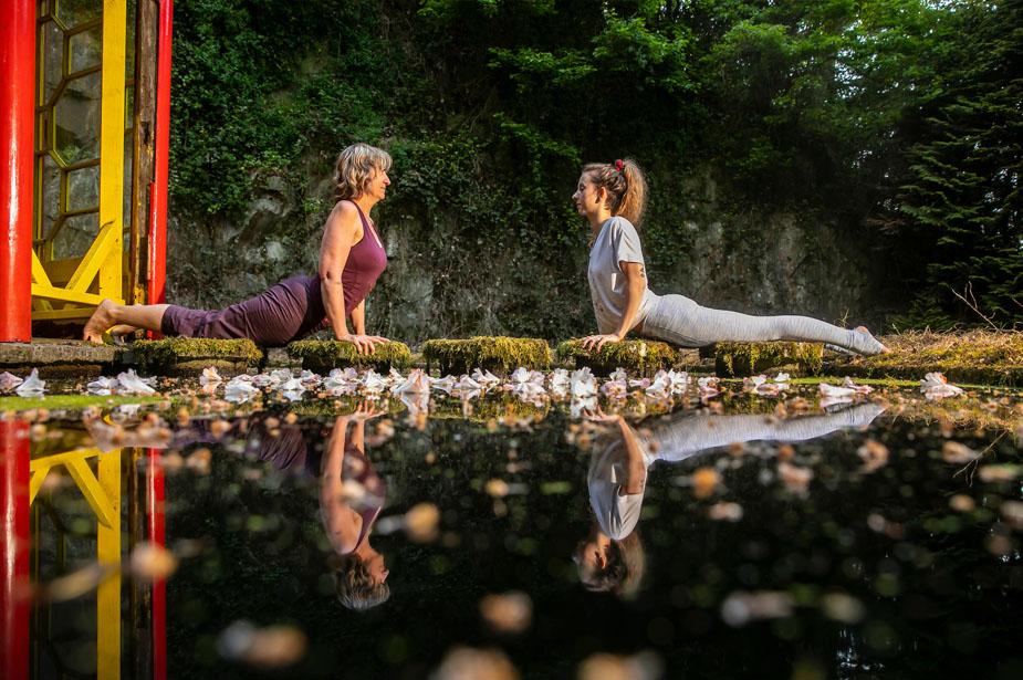 Summer Yoga Events announced for Mount Congreve Gardens | Destination Ireland