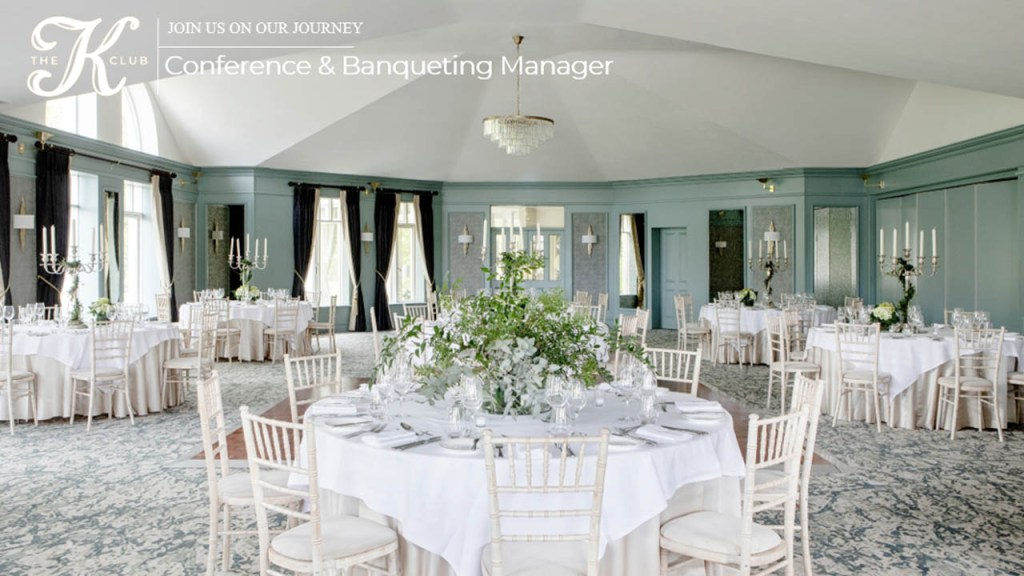 Conference & Banqueting Manager