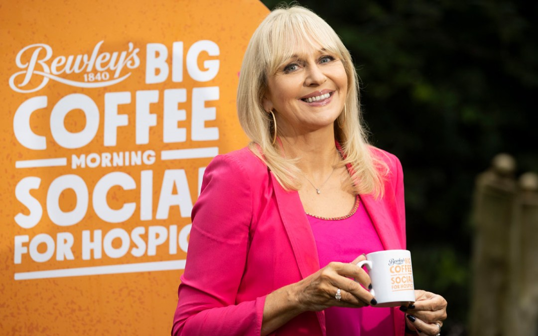 Miriam O'Callaghan launches Bewley's Big Coffee Morning Social for Hospice