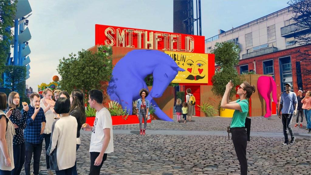 Public Art Transforms Local Areas under Failte Irelands Urban Animation Scheme
