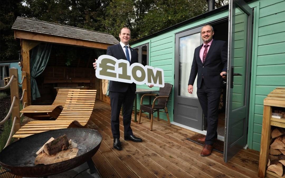 Galgorm £10 MILLION new luxury outdoor accommodation investment