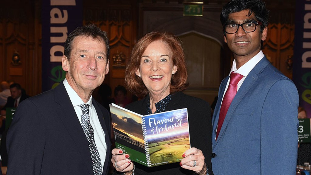 A Taste of Ireland at 'Flavours of Ireland' Event in London B2B workshop aims to grow our share of the huge worldwide tourism market