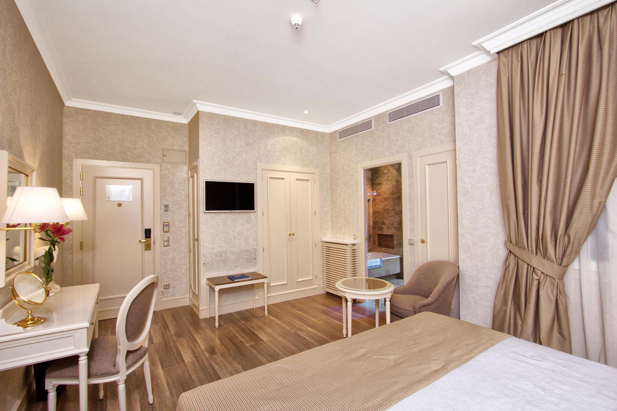 Habitaciones dobles superiores Hotel Atlntico Madrid