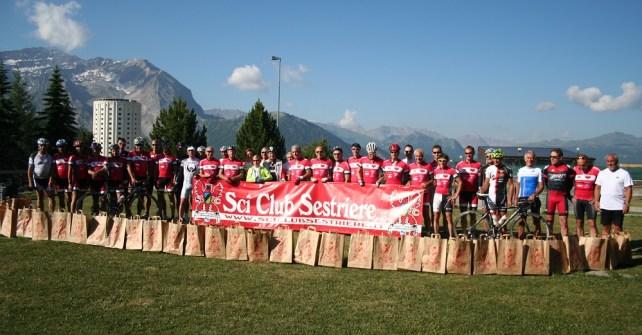 Partita la Cicloturistica Sestriere – Montecarlo