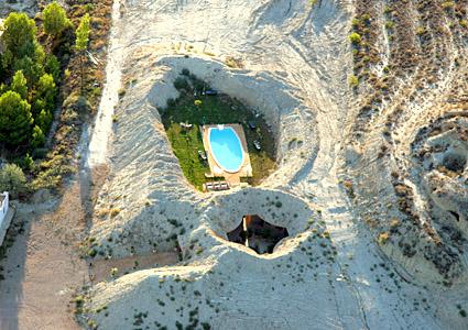 Hotel Cueva  Tardienta Monegros Huesca  Inicio