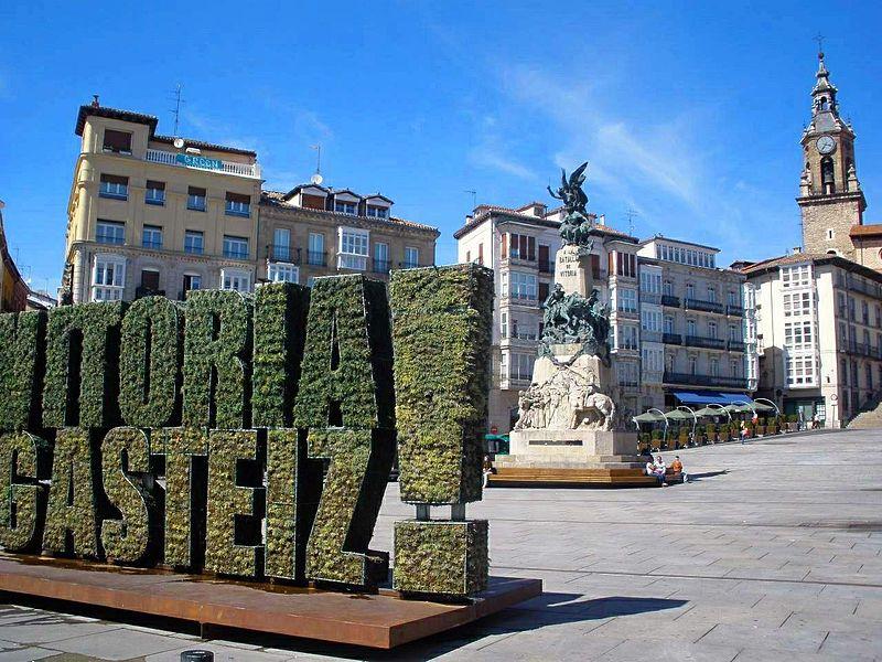 Paseo por los monumento callejeros VitoriaGasteiz