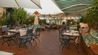 Hotel Diana Rome, Roof Garden   Official Site