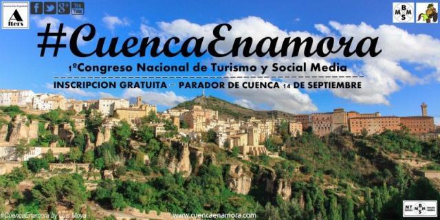 1CONGRESO NACIONAL DE TURISMO Y SOCIAL MEDIA CUENCAENAMORA más pequeña