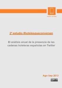 estudio hotelesqueconversan cadenas hoteleras twitter