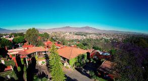 Panóramica de Morelia desde el Hotel