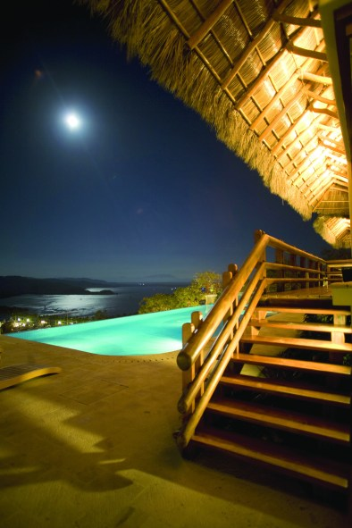 Night View of the Pool