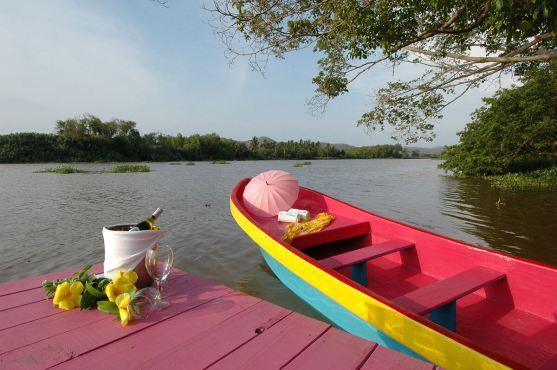 Cruising the river