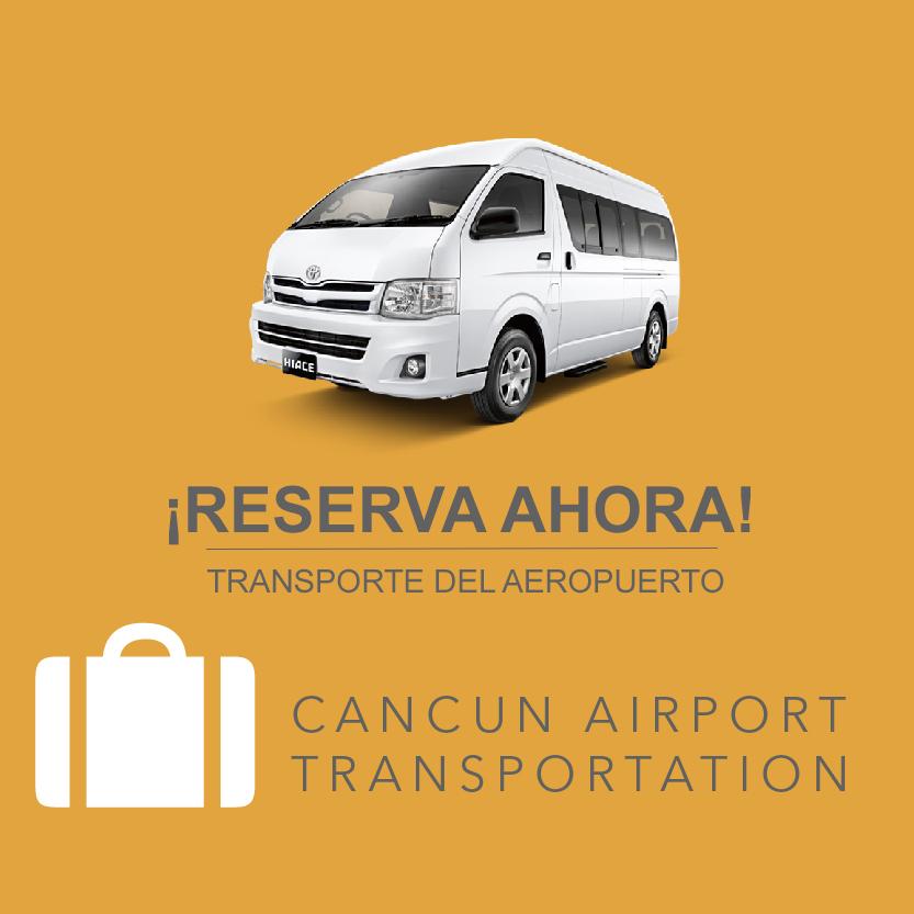 Reserva de Traslados del Aeropuerto de Cancún
