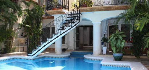 La-Villa-du-Golf-a-Cancun-piscina