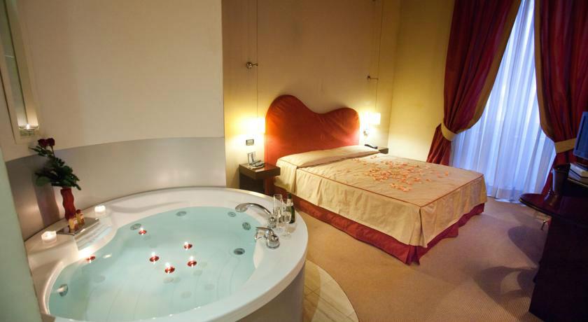 Hoteles Con Jacuzzi Privado en la Habitacin en Roma